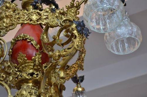 Kronleuchter Antik Porzellan ~ Exquisite bronze und porzellan kronleuchter 12 antiquitäten