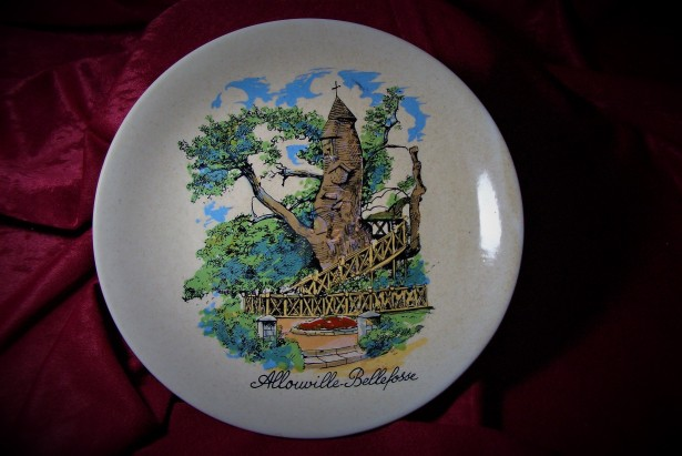 Handmade, Geschenk, Vintage Collection Plate